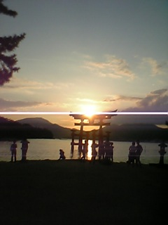 宮島だぜぃ☆